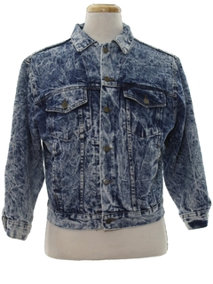 1980's Womens Totally 80s Western Denim Jacket