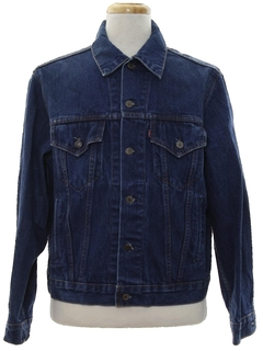 1980's Mens Levis Denim Trucker Jacket