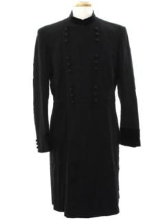 1920's Mens Victoirian Style Frock Overcoat Jacket