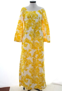 1960's Womens Hawaiian Style Dress