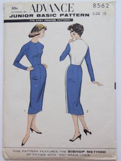 1950's Womens Pattern