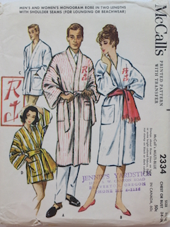 1950's Unisex Pattern
