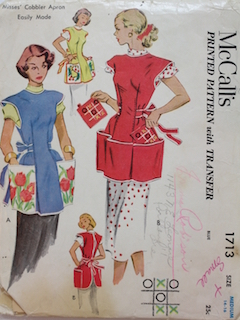1940's Womens Apron Pattern