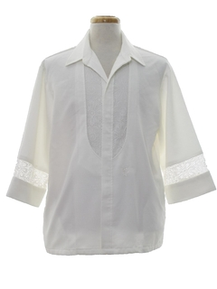 1970's Mens Mod Iolani Style Hawaiian Shirt