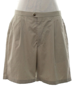 1980's Mens Totally 80s Pleated Golf Shorts