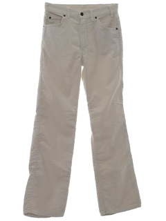 1970's Mens Flared Mod Western Style Jeans-Cut Pants