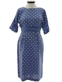 1950's Womens Wiggle Dress
