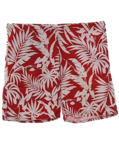 1980's Mens Hawaiian Style Board Shorts