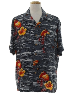 1980's Mens Hawaiian Shirt
