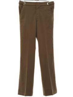 1970's Mens Disco Style Tuxedo Pants