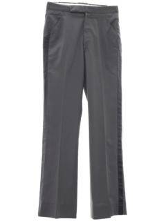 1970's Mens Tuxedo Pants