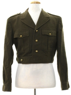 1950's Mens Ike Style Military Jacket