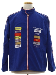 1980's Unisex Wind Breaker Zip Jacket
