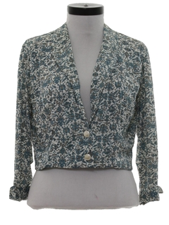 1960's Womens Shirt Jacket