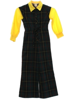 1970's Womens/Girls Bellbottom Jumpsuit