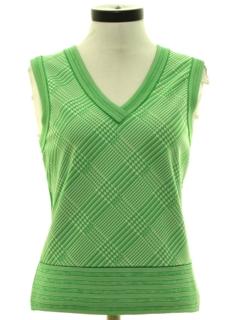 1970's Womens Mod Knit Vest