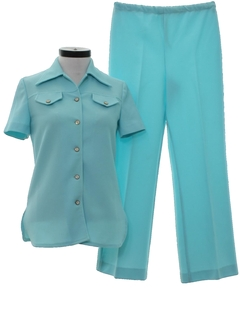 1970's Womens Leisure Pantsuit