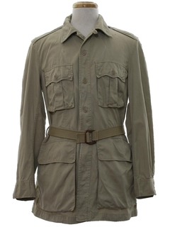 1950's Mens Safari Jacket