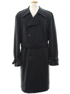 1970's Mens Overcoat or Trenchcoat  Jacket