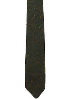1960's Mens Accessories - Wool Necktie