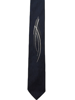 1980's Mens Rockabilly Style Necktie