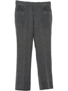 1970's Mens Mod Flared Leisure Slacks Pants