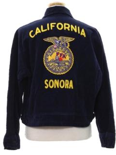 1980's Womens Corduroy FFA Jacket