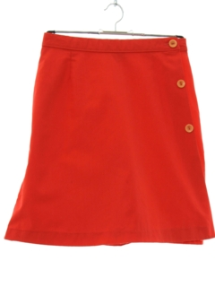 1970's Womens Tennis Skort Shorts Mini Skirt