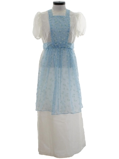 1970's Dress and Apron