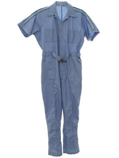 1980's Mens Gas Station Jumpsuit Style Overalls
