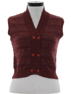 1970's Womens or Girls Sweater Vest
