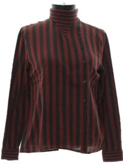 1980's Womens Mod Designer Shirt