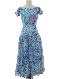 1970's Womens Bridesmaid Dress