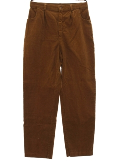 1980's Womens Totally 80s Corduroy Pants