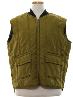 1960's Mens Ski Vest Jacket