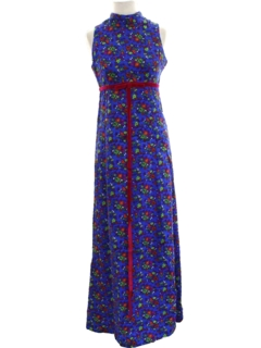 1960's Womens Mod Hippie Dress