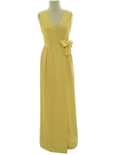 1950's Womens Designer Prom Or Cocktail Dress
