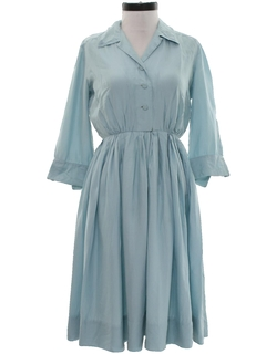 1950's Womens New Look Rayon Day Dress