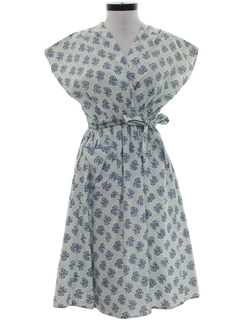 1950's Womens Wrap Dress