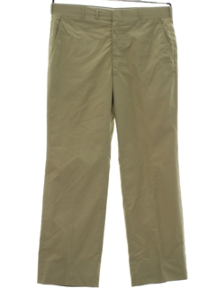 1980's Mens Khaki Preppy Golf Pants