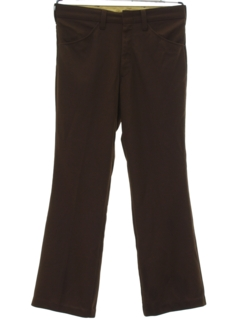 1970's Mens Flared Mod Western Style Leisure Disco Pants