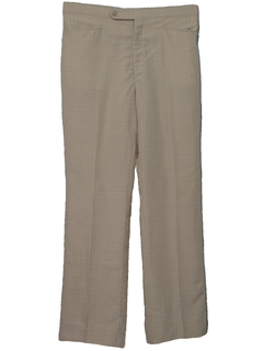 1970's Mens Mod Leisure Style Golf Pants