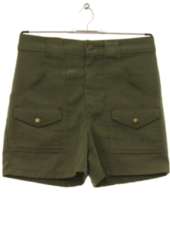 1970's Mens Boy Scout Shorts