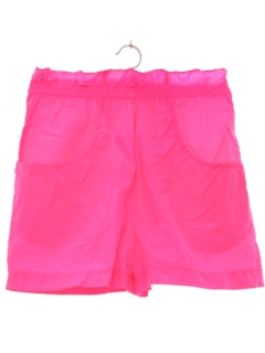 1980's Womens Totally 80s Shorts