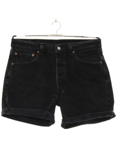 1980's Mens Denim Shorts