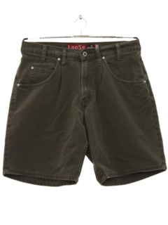 1990's Mens Wicked 90s Denim Jorts Shorts
