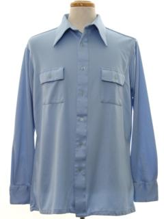 1970's Mens Sport Shirt Shirt
