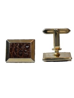 1970's Mens Accessories --Cufflinks
