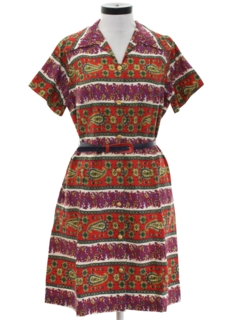 1960's Womens Hippie Day Dress