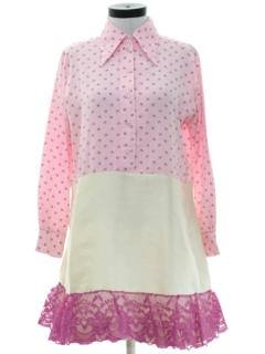 1970's Womens A-Line Dress